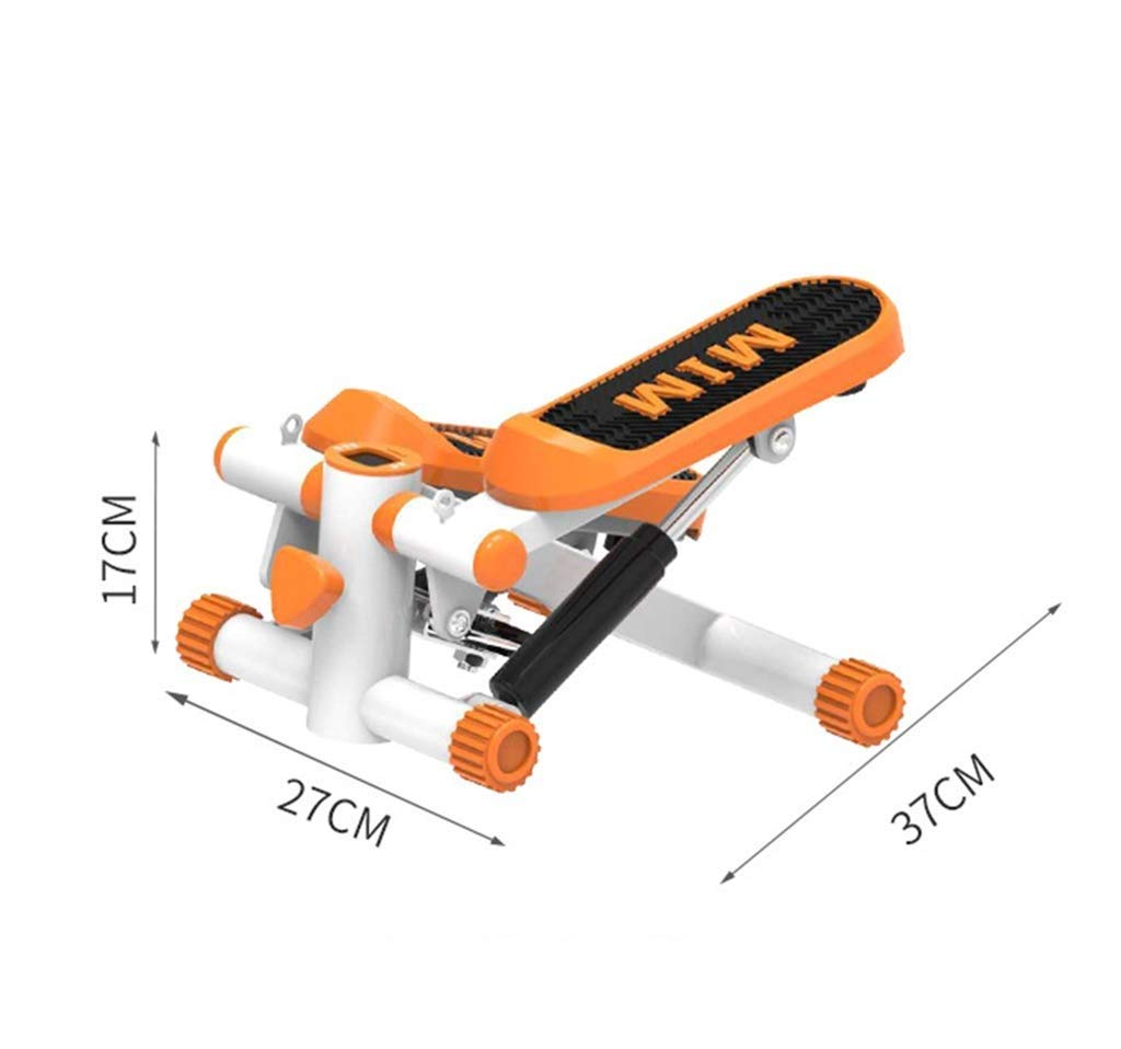 Stepper,Aerobic Fitness Exercise Machine Home Mute Stepper, Hydraulic Mute Stepper Aerobic Torque with Adjustable Resistance Band (Color : B) by Tabuji (Image #8)