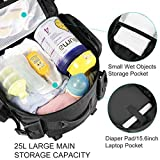 Dinictis 40L Diaper Bag Backpack for Dad,Tactical