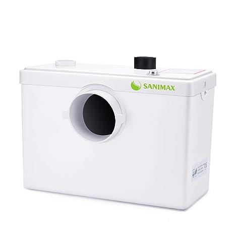 SANIMAX Hebeanlage 3/1 Schmutzwasser Fäkalien Kleinhebeanlage 600W