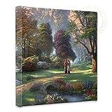 Thomas Kinkade - Walk of Faith 14x14 Gallery Canvas Wrap