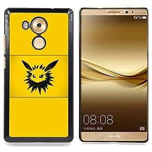 - Pika P0Kemon - - Cubierta del caso de impacto con el patr??n Art Designs FOR Huawei Mate 8 Queen Pattern