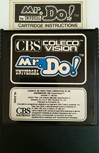 Mr. Do! - ColecoVision (CBS Electronics International (Cbs Toys)