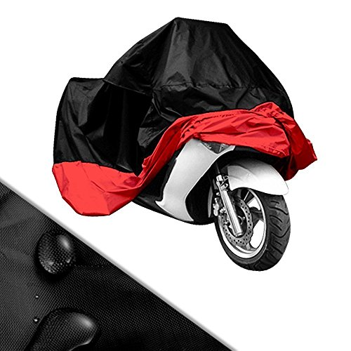 Lyfree Indoor/Outdoor Motorcycle Cover Reflective Waterproof UV Protection Heat - Moisture Guard Vent Sportbike (XXXL) by Lyfree (Image #1)