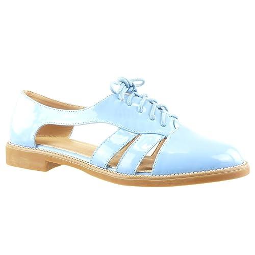 Angkorly - Zapatillas Moda Sandalias Zapato Acento Abierto Mujer Tanga Acabado Costura Pespunte Tacón Ancho 2 CM: Amazon.es: Zapatos y complementos