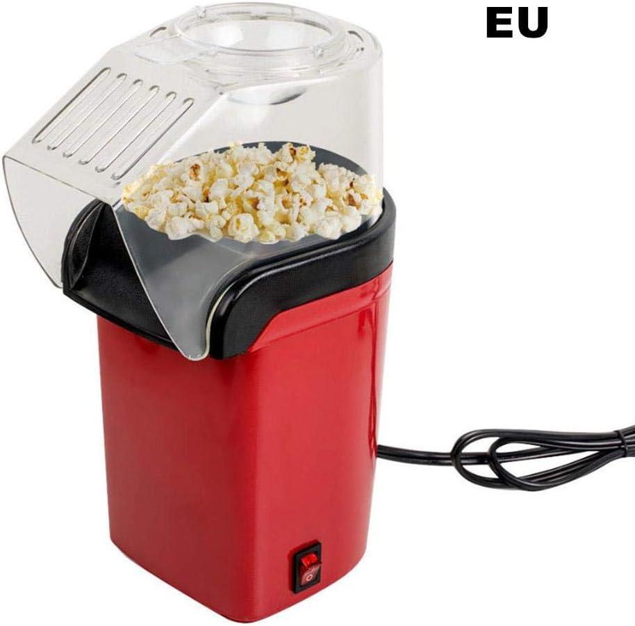 arthomer Palomitero Máquina de Palomitas Nostalgia 100 Libre de Aceite para Hacer Popcorn, Saludable, Fácil de Limpiar, Popcorn Maker, Rojo: Amazon.es