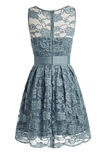 Fanciest -  Vestito  - linea ad a - Donna grigio 40