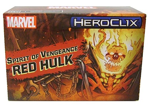 HeroClix 2017 SDCC Exclusive Red Hulk Spirit of Vengeance Limited Edition