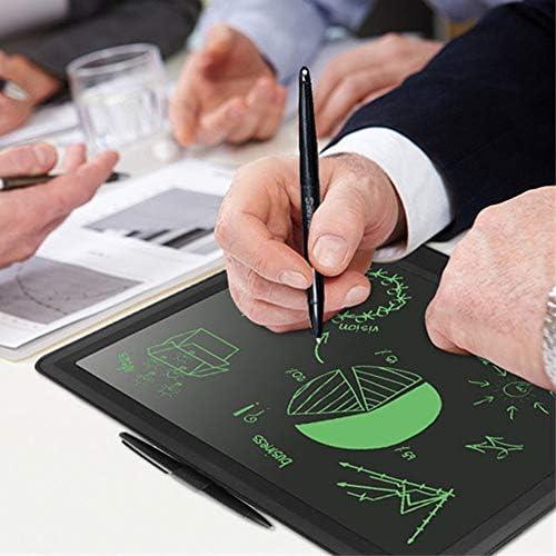 Dmxiezib 15-Zoll-LCD-Tablet Elektronisches Tablet LED-Tafel LCD-Schreibtablett Kinder schreiben und zeichnen elektronische Schreibtafel für anstelle von Papier