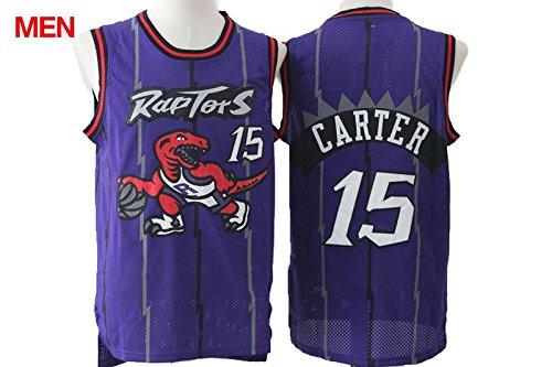 Mens Brand New Retro Jersey, Toronto Raptors #15 Vince Carter Purple S