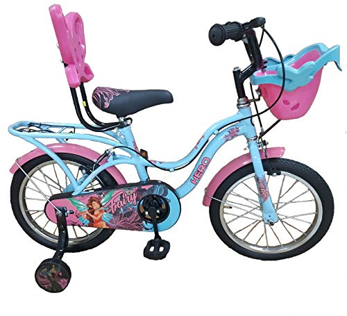 Hero Cycles 16 Kid's Cycles Fairy (Blue/Pink, Age 4 to 7 Year) Price & Reviews
