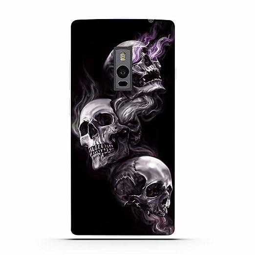 4 opinioni per OnePlus Two (1+2) Cover, Fubaoda Alta qualità Artistico Bone serie TPU Skin