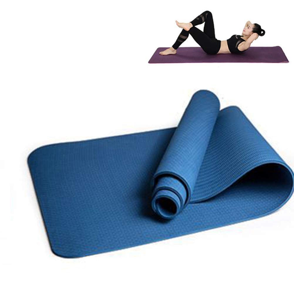 YCKZZR Colchoneta De Yoga Esterilla Yoga,Ultra Delgada ...