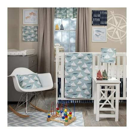 51DQmD18SoL._SS450_ Nautical Crib Bedding and Beach Crib Bedding