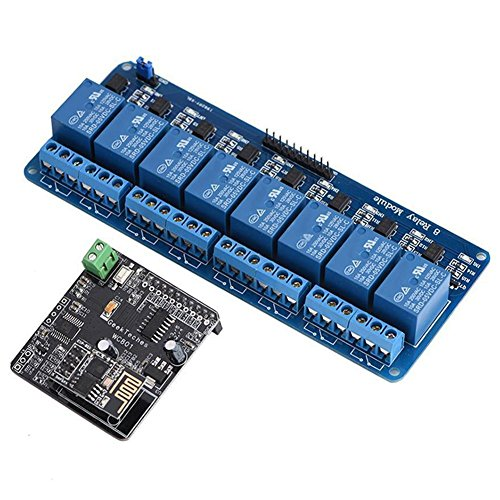 TOOGOO WiFi Network IO Controller 8 Channel Relay Module for Arduino Android iOS iMatic