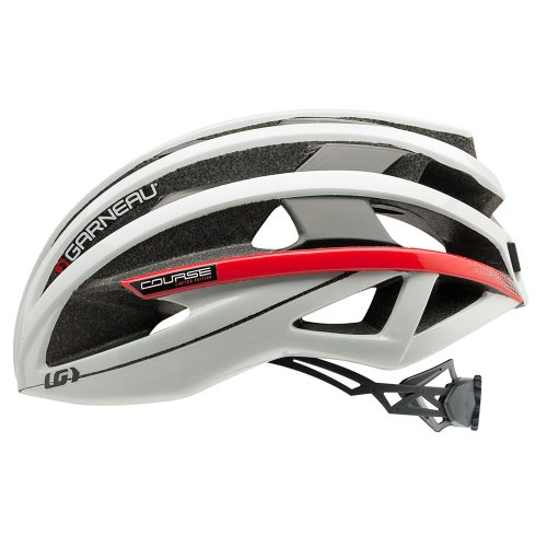 Louis Garneau Course Cycling Helmet, White, Large