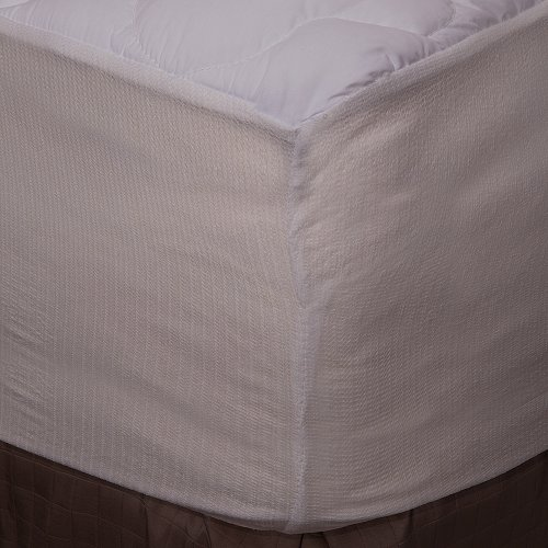 Extra Plush Fitted Mattress Topper - Found in Marriott Hotels - Made...