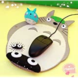 Sytian® DIY My Neighbor Totoro Non-woven Wrist Mouse Pad Material Bag DIY Handmade Decorative Totoro Mouse Pad Material Bag Cute Desk Decor Very Good Handmade Gift to Totoro Fan