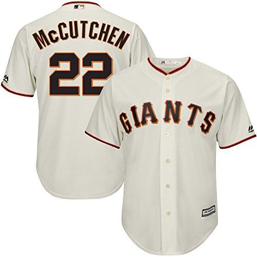 Majestic Athletic Andrew Mccutchen  22 Mens San Francisco Giants Baseball Player Jersey   Cream Size 40