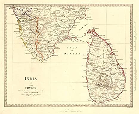 Amazon.com: INDIA I. SOUTH & CEYLON. Sri Lanka Carnatic ... on india map with asia, india map with neighboring countries, india map with bodies of water, india map with himalayas, india map with other countries, india map with indus river, india map with neighbouring countries, india map with maldives,