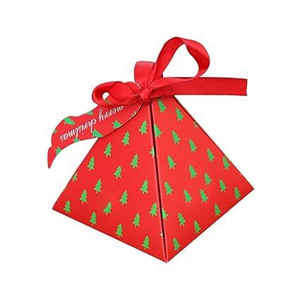 LWAN3 Bolsa de caramelos de Navidad, 10 bolsas de papel de ...
