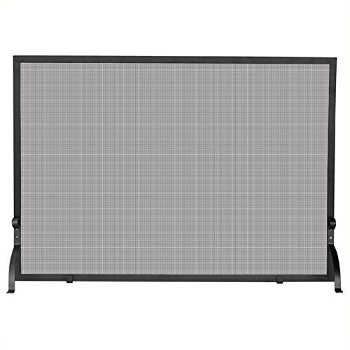 Uniflame, S-1154, Large Single Panel Olde World Iron Screen Finish Screen by Uniflame