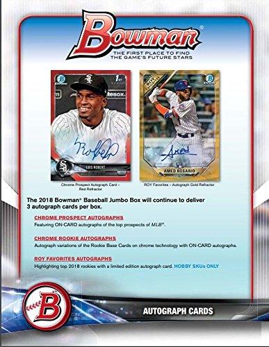 10 Card Hobby PACK Factory Sealed 2018 Bowman Baseball