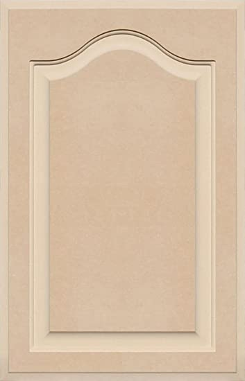 Unfinished Arch Top Cabinet Door in MDF by Kendor, 25 High x 16 ...