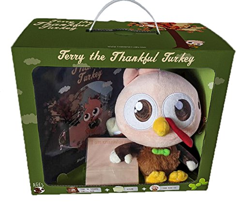 Terry the Thankful Turkey Book and Toy - A New Thanksgiving Tradition ()