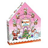 Kinder Christmas Advent Calendar, Pink, 24 Count Assorted Chocolates, 182 grams