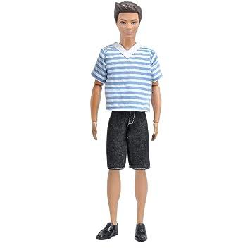 2ab6f7f2d10 Amazon.com   E-TING 1 Set Casual Wear T-shirt Pants Pack Summer Look ...