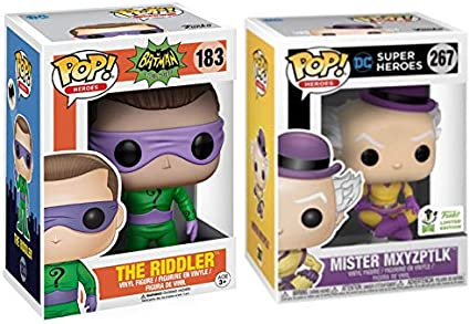 Mister MXYZPTLK Pop Funko Pop Heroes Limited Edition 2019 Convention Exclusive
