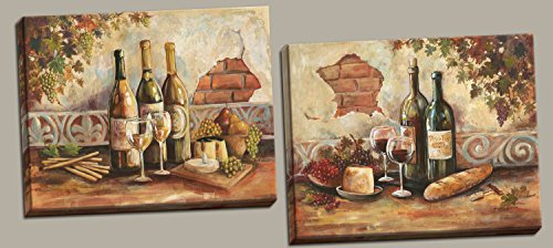 wine and cheese decor - 9