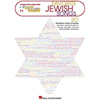 Favorite Jewish Songs: E-Z Play Today Volume 11
