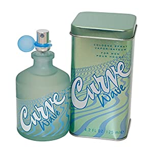 Curve Wave by Liz Claiborne for Men, Cologne Spray, 4.2-Ounce
