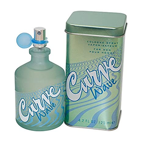 Curve Wave by Liz Claiborne for Men, Cologne Spray, 4.2-Ounce 139220
