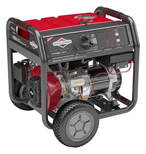 Briggs & Stratton 30679, 8000 Running Watts/10000 Starting Watts Gas Powered Portable Generator with Bluetooth (Best Briggs & Stratton Gas Generators)