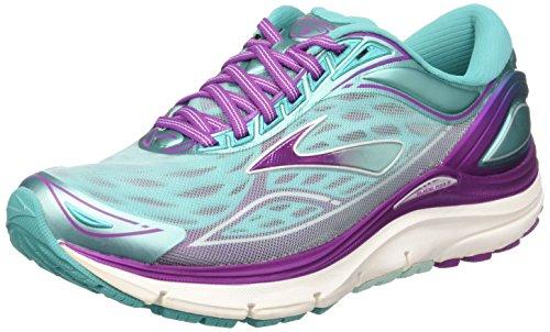 Byzantium Silver Blue Multicolor Transcend Brooks Shoes WoMen 3 Running Aruba Blue vYwZzq