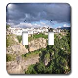 3dRose Danita Delimont - Mountains - Spain, Andalusia, Ronda. - Light Switch Covers - double toggle switch (lsp_277901_2)