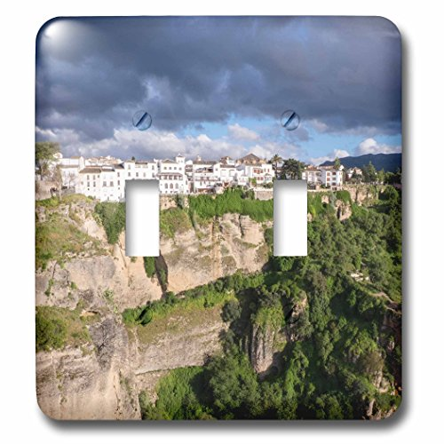 3dRose Danita Delimont - Mountains - Spain, Andalusia, Ronda. - Light Switch Covers - double toggle switch (lsp_277901_2) by 3dRose