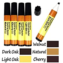 Industrial Tools 5-Color Wood Floor Furniture & Woodwork Scratch Cover Touch-Up Pens