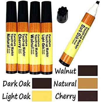 This item 1 X 5-Color Wood Floor Furniture & Woodwork Scratch Cover  Touch-Up Pens