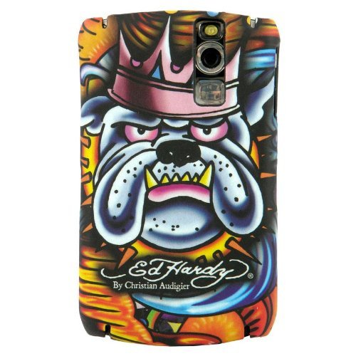 Ed Hardy Faceplate for BlackBerry Curve 8300 - King Dog Tattoo