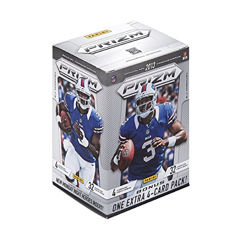 2013 Nfl Draft - 2013 Panini Prizm NFL Football Series Unopened Blaster Box That Contains 8 Packs. Chance At 100 Different Rookie Cards Plus Possible Insert Cards Including Rookie Impact, Decade Dominance, Monday Night Heroes, Retail-exclusive Green Prizm Parallels and More!