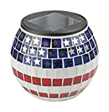 Paradise Lighting 8526436 Solar Glass Mosaic Jar
