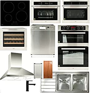 Double Oven Appliance Package (10 components)