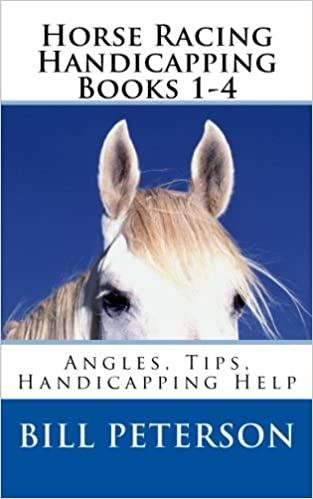 Horse Racing Handicapping Books 1-4: Angles Handicapping Help Tips Advice