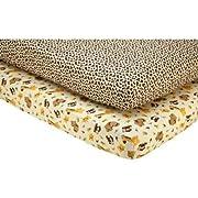Little Bedding by NoJo - Jungle Dreams 2pk Crib Sheet