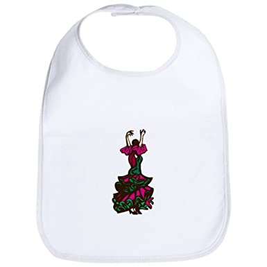 CafePress - Flamenco Dancer Bib - Cute Cloth Baby Bib c78966ce1