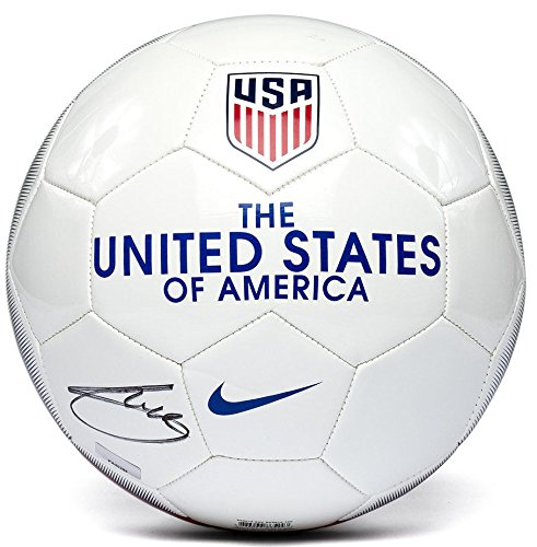 CHRISTIAN PULISIC Autographed Nike USA Authentic Soccer Ball PANINI