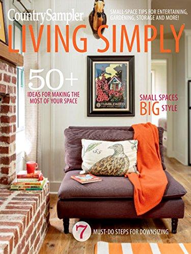 country sampler magazine 2017 Living simply -